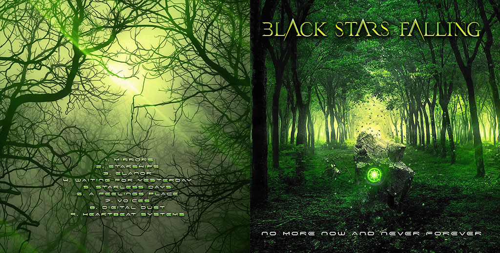 Black Stars Falling - No More Now and Never Forever