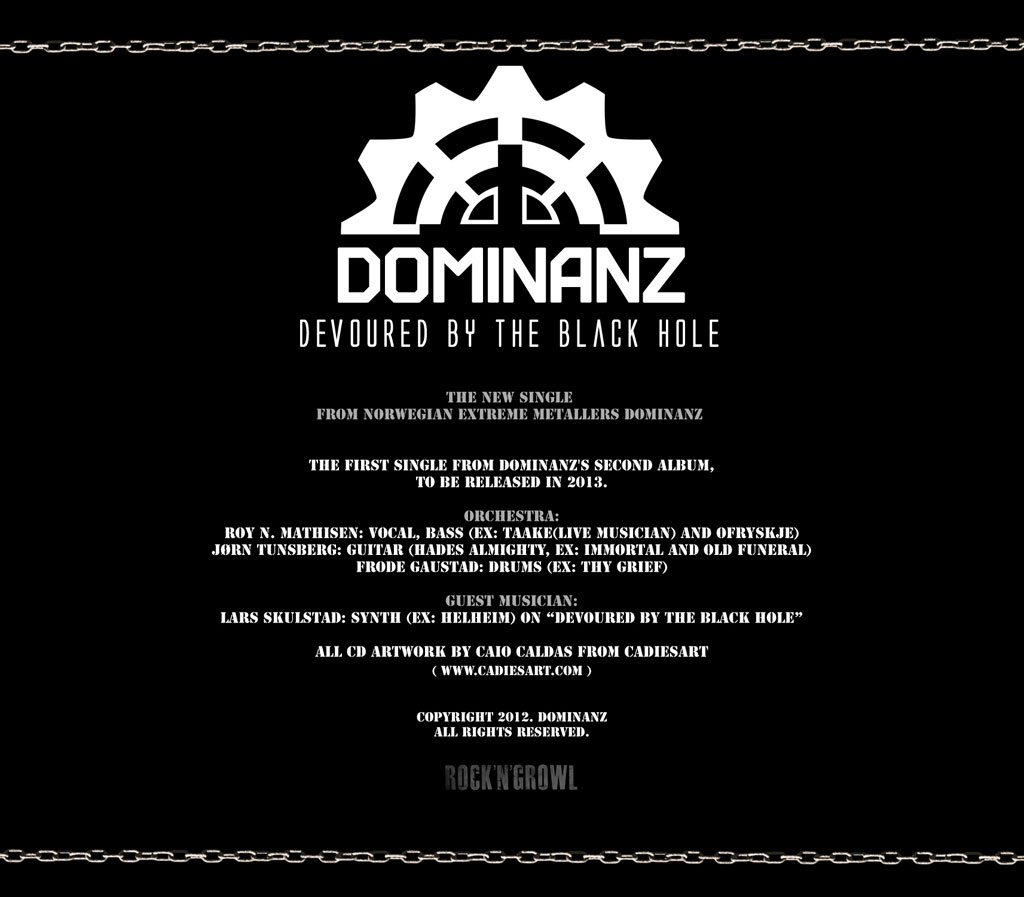 Dominanz - Devoured By The Black Hole