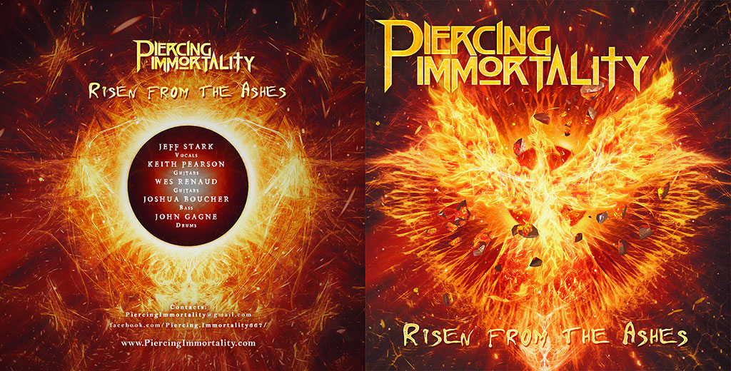Piercing Immortality - Risen from the Ashes