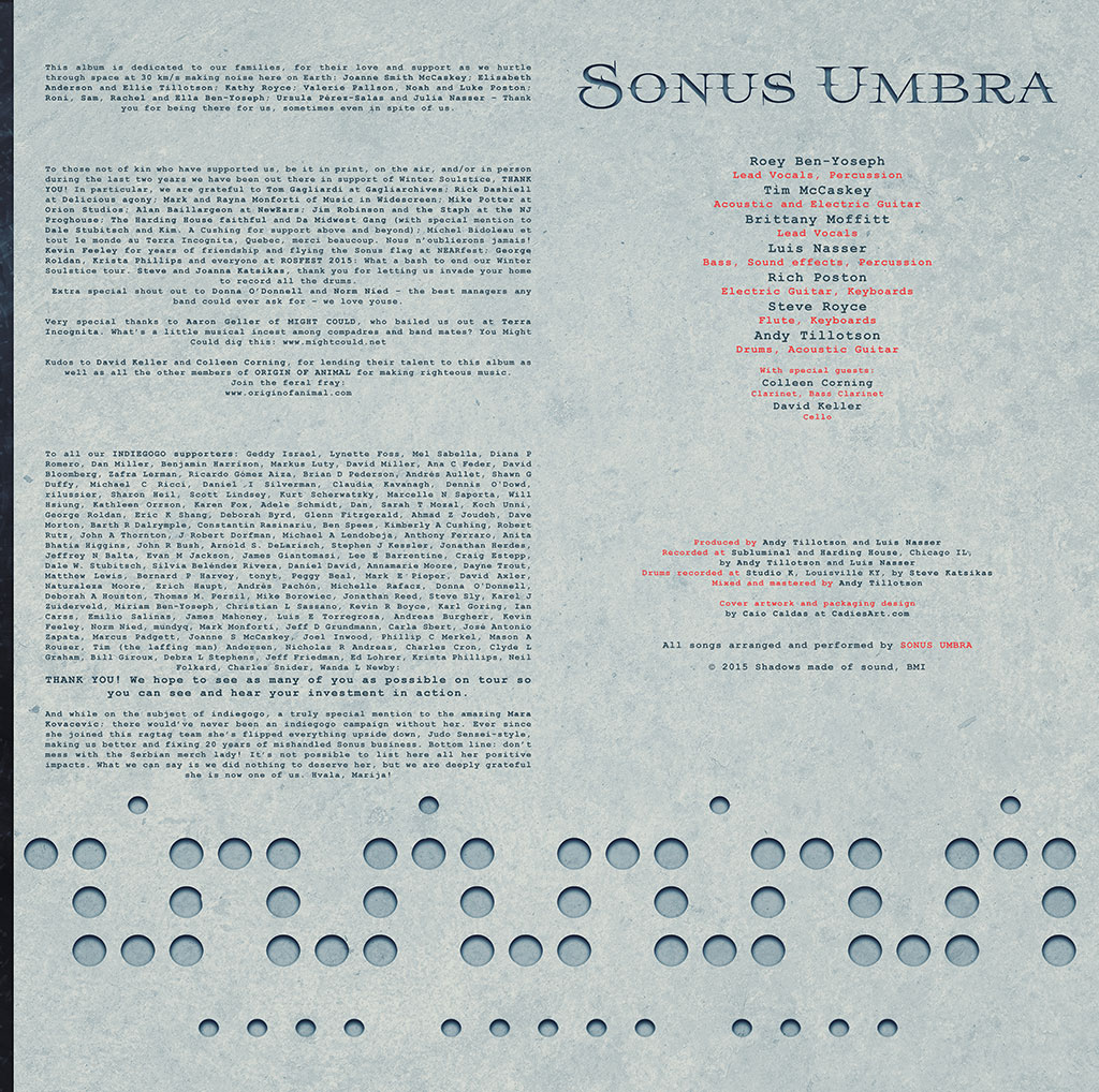 Sonus Umbra - Beyond The Panopticon LP