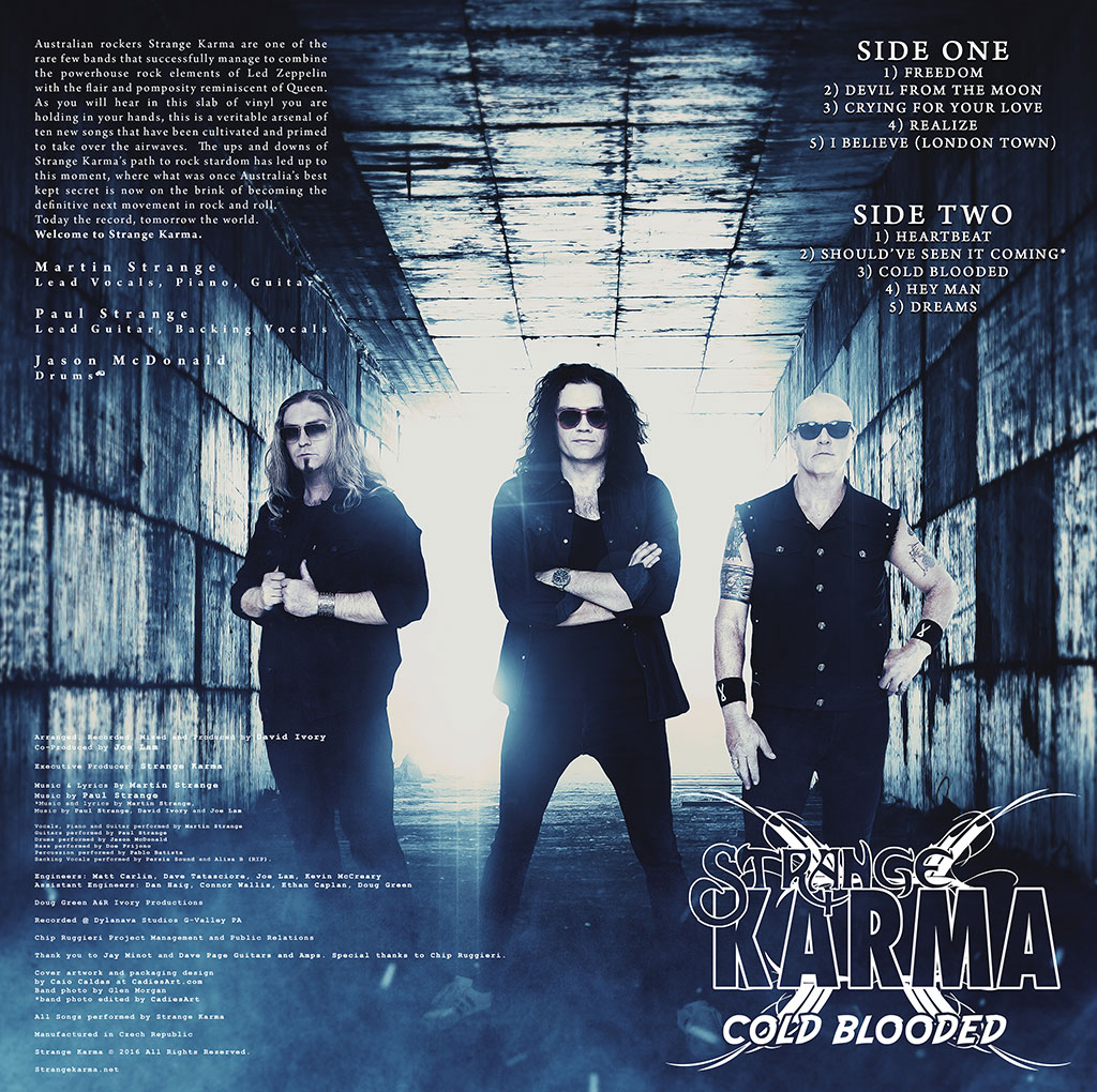 Strange Karma - Cold Blooded LP