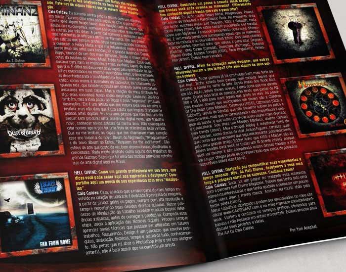 Interview Hell Divine Magazine